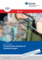 Sicherheit beim Arbeiten mit Handwerkzeugen