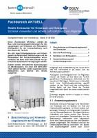"""FBHM-111 """"Mobile Entstauber für Holzstaub und Holzspäne - Sicheres Verwenden und sichere Luftrückführung von Altgeräten"""""""