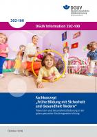 """Fachkonzept """"Frühe Bildung mit Sicherheit und Gesundheit fördern"""""""