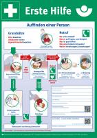 Erste Hilfe (Plakat, DIN A3)