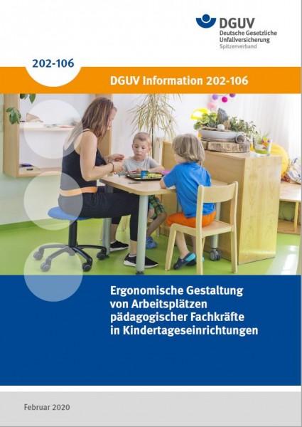 Ergonomische Gestaltung von Arbeitsplätzen pädagogischer Fachkräfte in Kindertageseinrichtungen