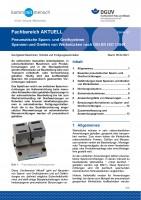 """FBHM-107 """"Pneumatische Spann- und Greifsysteme - Spannen und Greifen von Werkstücken nach DIN EN ISO 13849"""""""