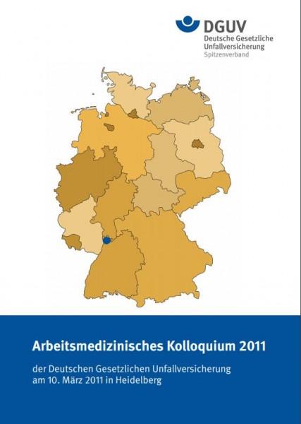 Arbeitsmedizinisches Kolloquium 2011