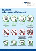 Koronavirus - Általános óvintézkedések