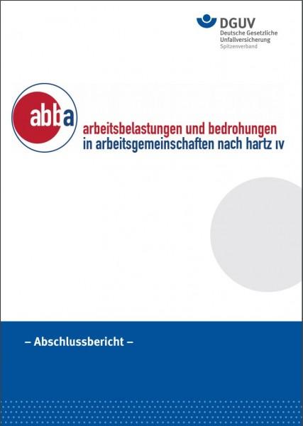 abba Arbeitsbelastungen und Bedrohungen in Arbeitsgemeinschaften nach Hartz IV