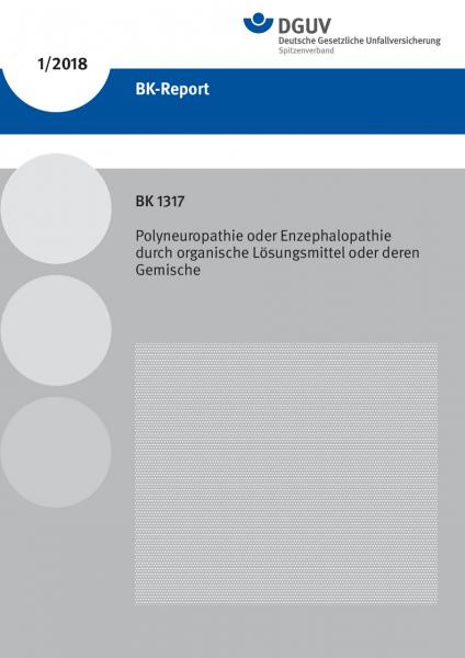 BK 1317 - Polyneuropathie oder Enzephalopathie durch organische Lösungsmittel oder deren Gemische (B
