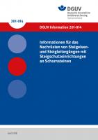 Informationen für das Nachrüsten von Steigeisen- und Steigleitergängen mit Steigschutzeinrichtungen an Schornsteinen
