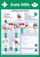 Erste Hilfe (Pretex-Plakat, DIN A2)