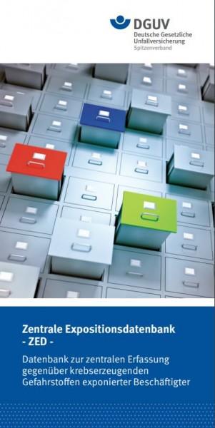 Zentrale Expositionsdatenbank (ZED) - Datenbank zur zentralen Erfassung gegenüber krebserzeugenden G