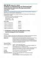 Verfahren zur Bestimmung von Dinitrotoluolen