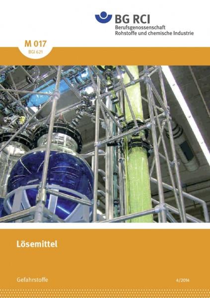 """Lösemittel (Merkblatt M 017 der Reihe """"Gefahrstoffe"""""""