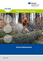 Sichere Waldarbeiten