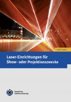 Laser-Einrichtungen für Show- oder Projektionszwecke