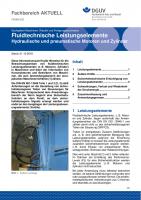 """FBHM-050 """"Fluidtechnische Leistungselemente - Hydraulische und pneumatische Motoren und Zylinder"""""""