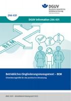 Betriebliches Eingliederungsmanagement - BEM Orientierungshilfe für die praktische Umsetzung