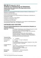 Verfahren zur Bestimmung von Ethylenimin