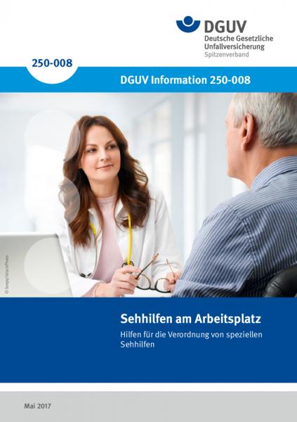 Sehhilfen am Arbeitsplatz - Hilfen für die Verordnung von speziellen Sehhilfen