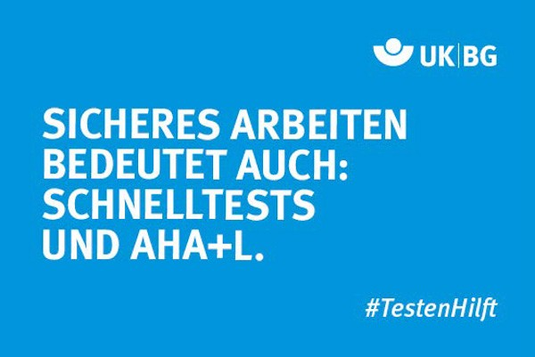 "Motiv #TestenHilft, ""Sicheres Arbeiten"" (UK|BG)"