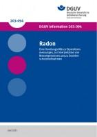 Radon - Eine Handlungshilfe zu Expositionsmessungen, zur Interpretation von Messergebnissen und zu Strahlenschutzmaßnahmen