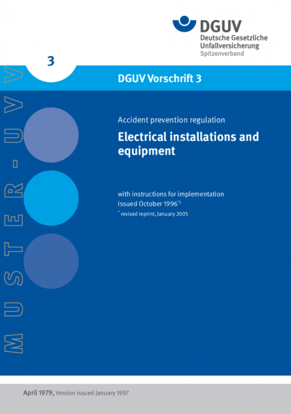 Electrical installations and equipment