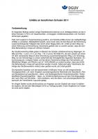 Unfälle an beruflichen Schulen 2011