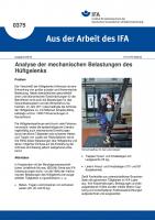 Analyse der mechanischen Belastungen des Hüftgelenks (Aus der Arbeit des IFA Nr. 0375)