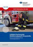 Leitfaden Psychosoziale Notfallversorgung für Einsatzkräfte
