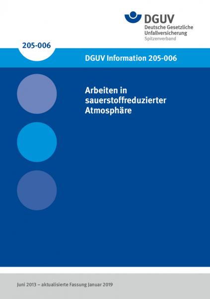 Arbeiten in sauerstoffreduzierter Atmosphäre