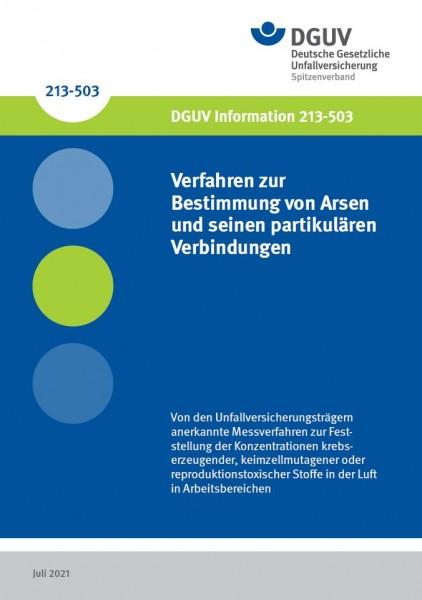 Verfahren zur Bestimmung von Arsen und Verbindungen