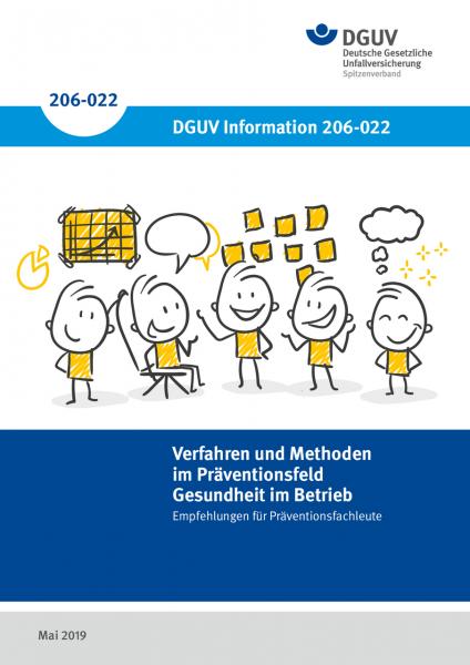 """Verfahren und Methoden im Präventionsfeld """"Gesundheit im Betrieb"""" - Empfehlungen für Präventionsfach"""