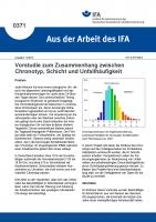 Vorstudie zum Zusammenhang zwischen Chronotyp, Schicht und Unfallhäufigkeit (Aus der Arbeit des IFA Nr. 0371)