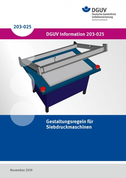 Gestaltungsregeln für Siebdruckmaschinen