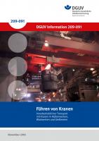 Führung von Kranen - Innerbetrieblicher Transport mit Kranen in Hüttenwerken, Walzwerken und Gießereien