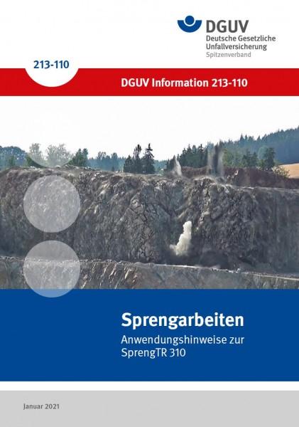 Sprengarbeiten - Anwendungshinweise zur SprengTR 310
