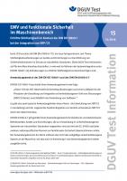 EMV und funktionale Sicherheit im Maschinenbereich