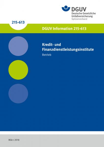 Kredit- und Finanzdienstleistungsinstitute - Betrieb