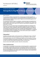 """FBGIB-003 """"Demografische Begriffe mit Bezug zur Arbeitswelt"""""""