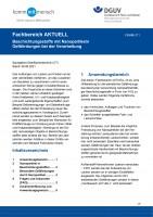 """FBHM-071 """"Beschichtungsstoffe mit Nanopartikeln - Gefährdungen bei der Verarbeitung"""""""