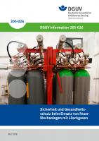 Sicherheit und Gesundheitsschutz beim Einsatz von Feuerlöschanlagen mit Löschgasen