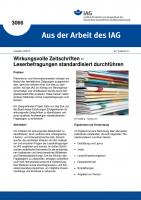 Wirkungsvolle Zeitschriften – Leserbefragungen standardisiert durchführen (Aus der Arbeit des IAG Nr. 3066)