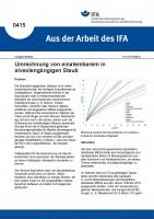 Umrechnung von einatembarem in alveolengängigen Staub  (Aus der Arbeit des IFA Nr. 0415)