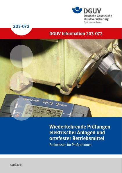 Wiederkehrende Prüfungen elektrischer Anlagen und ortsfester Betriebsmittel — Fachwissen für Prüfper
