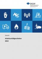 Arbeitsunfallgeschehen 2014