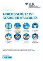 Arbeitsschutz ist Gesundheitsschutz - In der Produktion (Plakat, DIN A3)