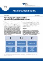 Verhütung von Arbeitsunfällen: Der Präventionsindex in der Praxis (Aus der Arbeit des IFA Nr. 0347)
