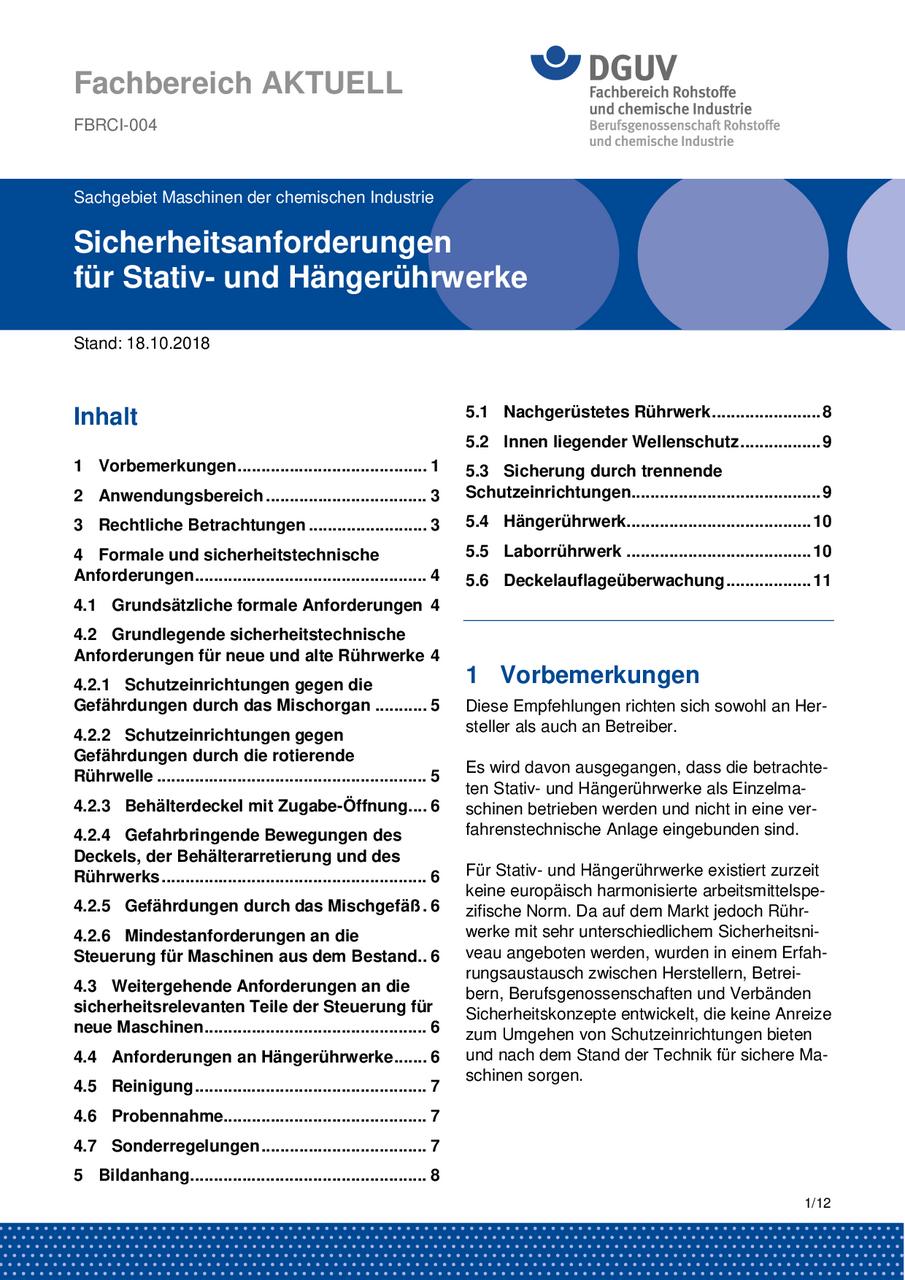 Fbrci 004 Sicherheitsanforderungen Für Stativ Und