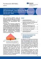 """FBHM-072 """"3D-Schutzraum: Anordnung der BWS - Bestimmungen des Sicherheitsabstands in Anlehnung an DIN EN ISO 13855"""""""