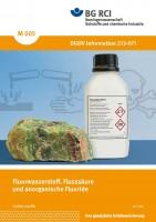 """Fluorwasserstoff, Flusssäure und anorganische Fluoride (Merkblatt M 005 der Reihe """"Gefahrstoffe"""")"""