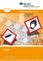 "Oxygen (Merkblatt M 034e der Reihe ""Gefahrstoffe"")"