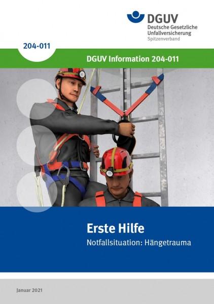 Erste Hilfe - Notfallsituation: Hängetrauma